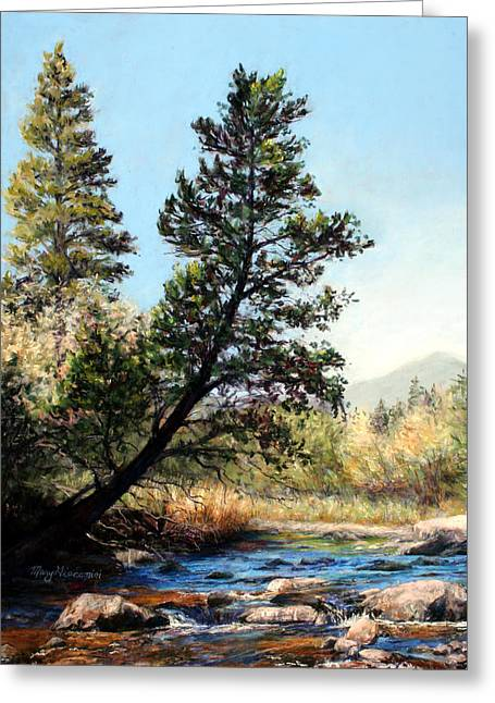 Tree Yoga Greeting Card