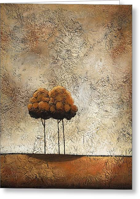 Trees 3 Greeting Card by Jane Hunt