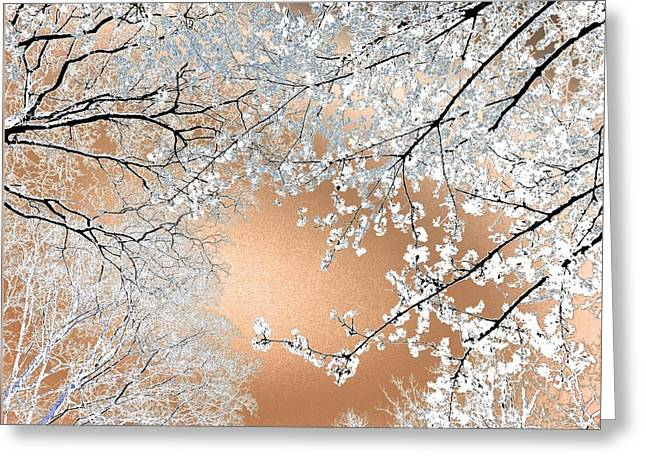 Blossoms #02 Greeting Card by Ninie AG