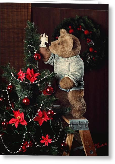 Treetop Angel Greeting Card
