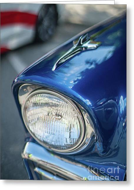 Tri-5 Chevrolet Classic Fender Greeting Card