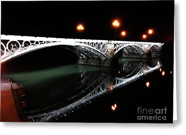 Triana Bridge Greeting Card