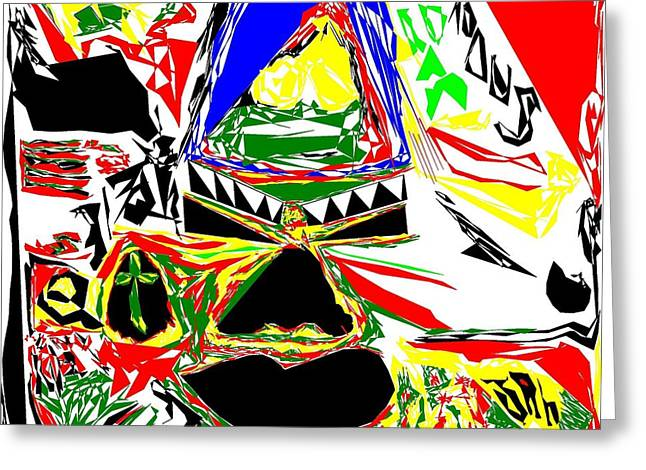 Tribal Party Greeting Card