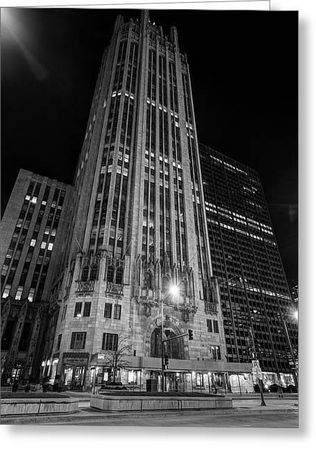 Tribune Tower - Chicago Greeting Card
