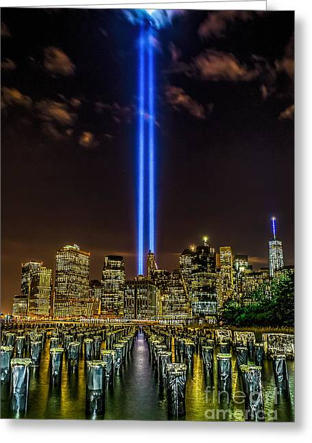 Tribute Lights 2015 Greeting Card
