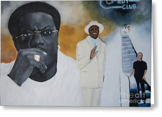 Tribute To Mr. Bernie Mac Greeting Card