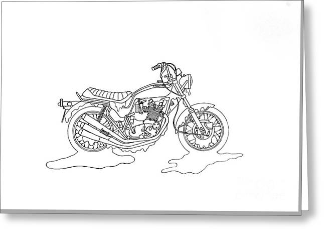 Trickily Triumph Greeting Card by Stephen Brooks