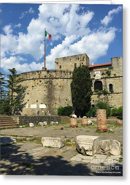 Trieste Near San Giusto Greeting Card by Italian Art