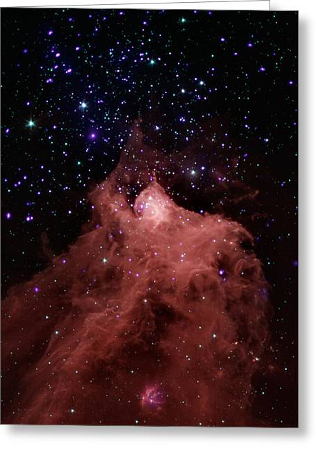Trigger-happy Star Formation Greeting Card
