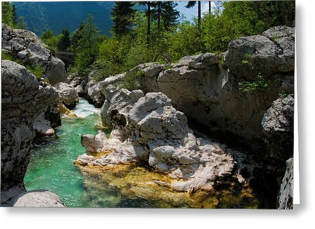 Triglav National Park Slovenia Greeting Card