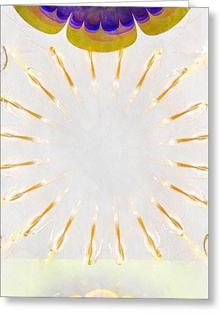 Trimonthly Unclad Flowers  Id 16165-105324-76980 Greeting Card