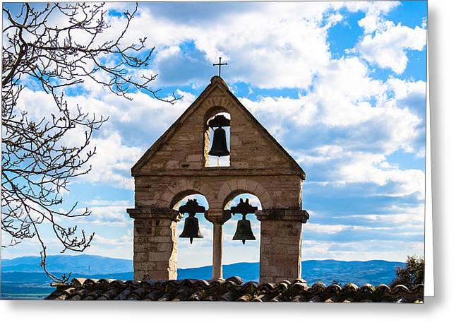 Trinity Greeting Card by Andrea Luciani