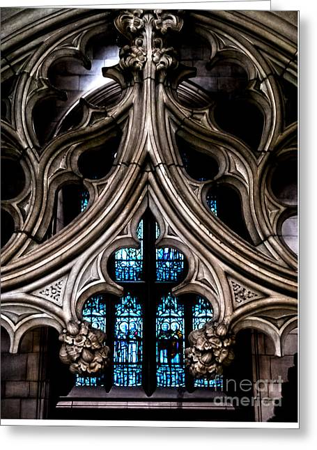 Trinity Church Chapel Greeting Card by James Aiken