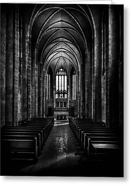 Greeting Card featuring the photograph Trinity College Chapel by Brian Carson