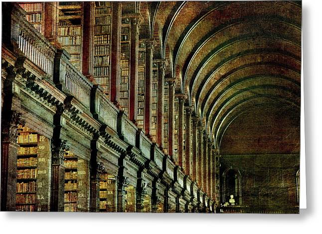 Trinity College Library Greeting Card
