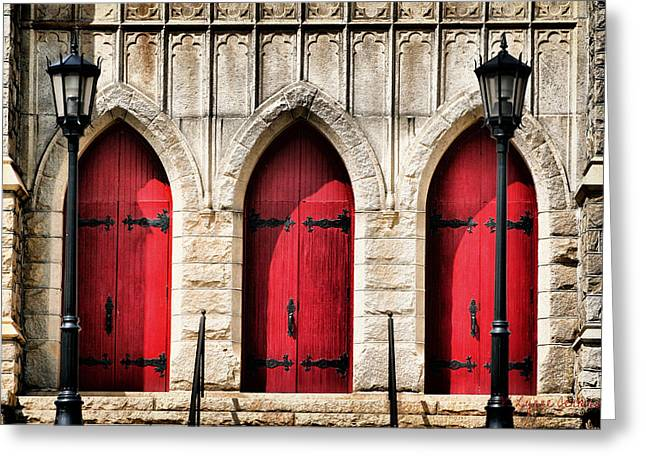 Trinity Lutheran Entrance Greeting Card