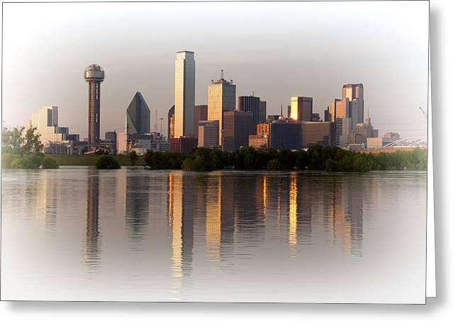 Trinity River Dallas 4 Greeting Card