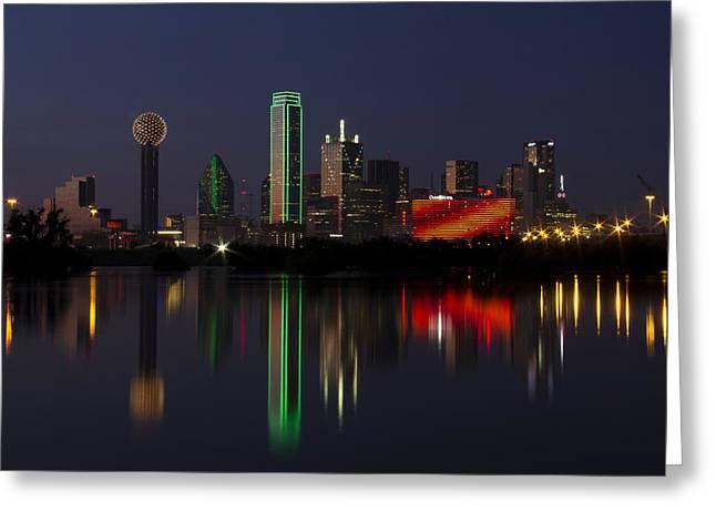 Trinity River Dallas Greeting Card