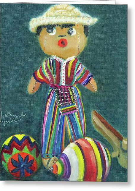 Trinkets From Guatemala Greeting Card