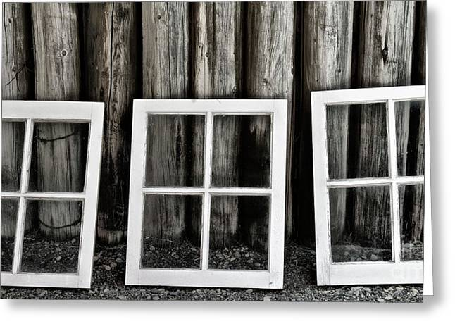 Greeting Card featuring the photograph Trio by Brad Allen Fine Art