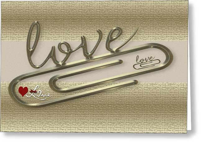 Triple Love Greeting Card