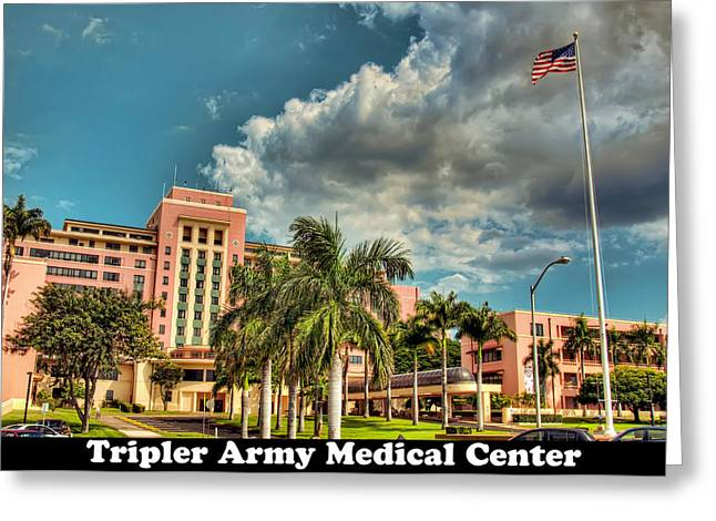 Tripler Card Sample Greeting Card