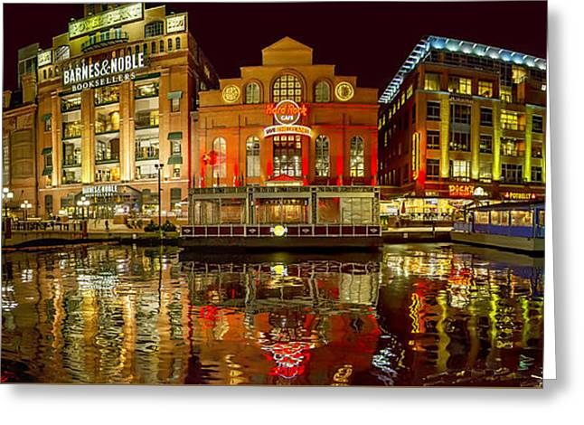 Tripping The Lights - Pano Greeting Card by Brian Wallace