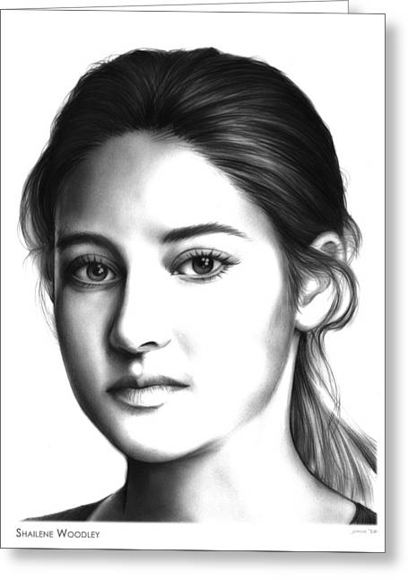 Tris Greeting Card by Greg Joens