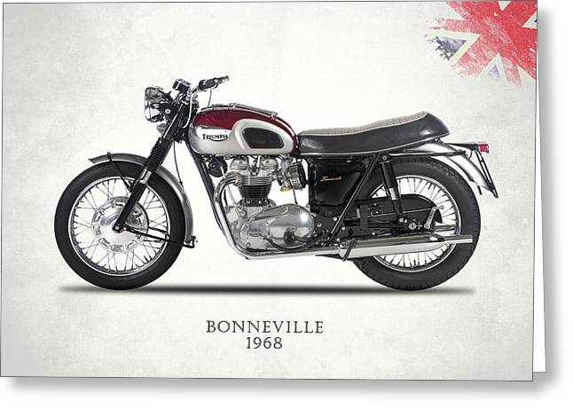 Triumph Bonneville T120 1968 Greeting Card
