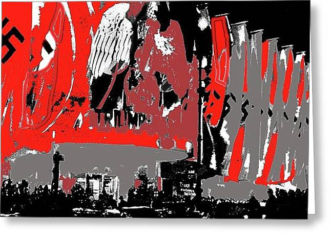 Triumph Of The Will  Premier Ufa Palace Theater 1935 Berlin Germany Color Added 2016 Greeting Card by David Lee Guss