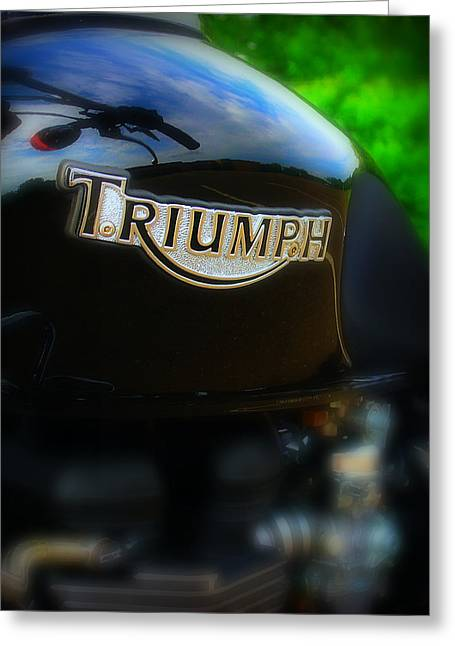 Triumph Greeting Card