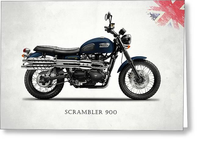 Triumph Scrambler 900 Greeting Card