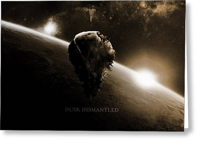 Trivium Dusk Dismantled                    Greeting Card by F S