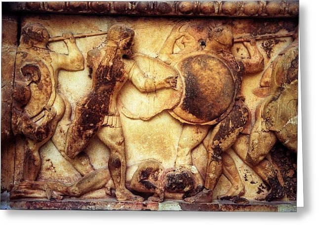 Trojan War Greeting Card by Andonis Katanos
