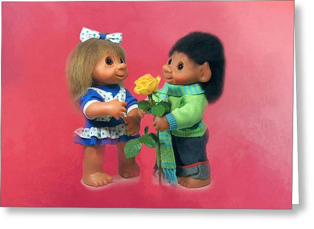 Troll Love Greeting Card