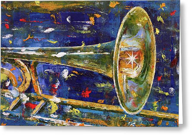 Trombone Greeting Card