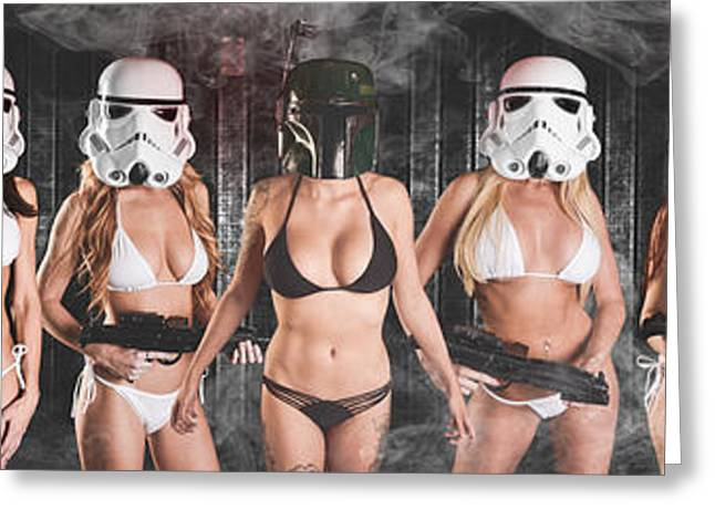 Trooper Army  Greeting Card by Jt PhotoDesign