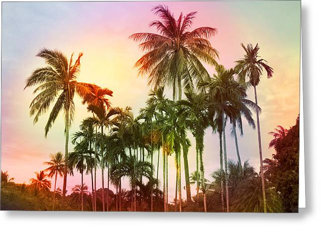 Tropical 11 Greeting Card