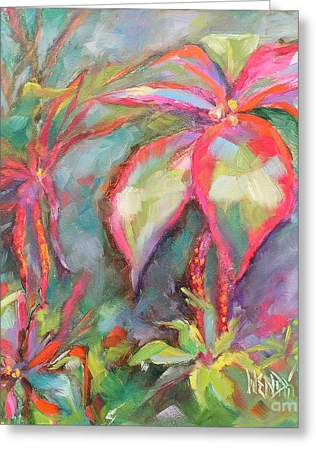 Tropical Beauty Greeting Card