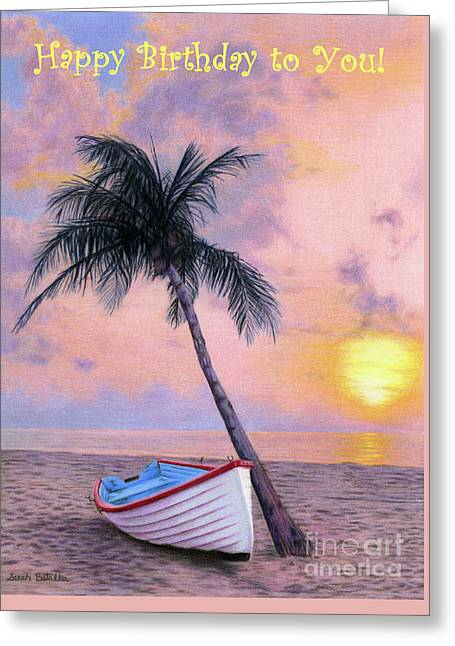 Tropical Escape- Happy Birthday To You Cards Greeting Card