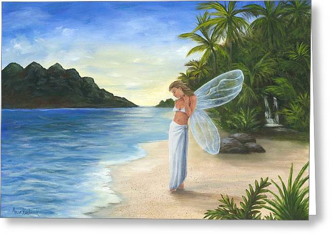 Tropical Fairy Greeting Card