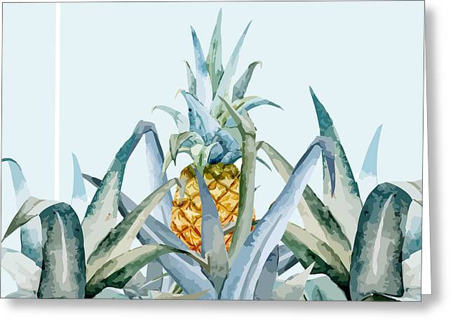 Tropical Feeling  Greeting Card by Mark Ashkenazi