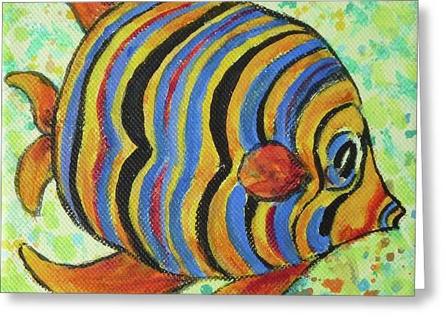 Tropical Fish Series 4 Of 4 Greeting Card
