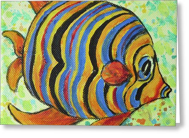 Tropical Fish Series 4 Of 4 Greeting Card