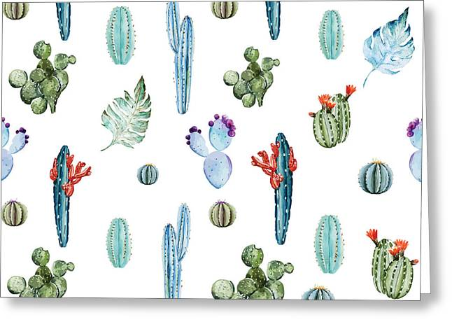 Tropical Forever 2 Greeting Card