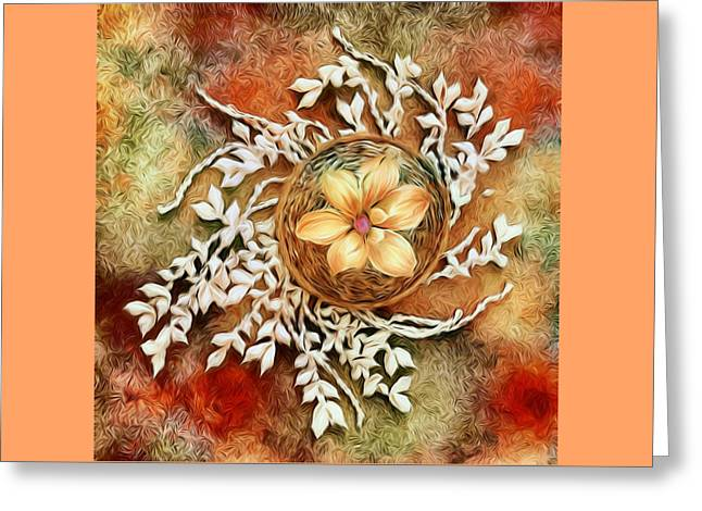 Tropical Greeting Card by Jenn Teel