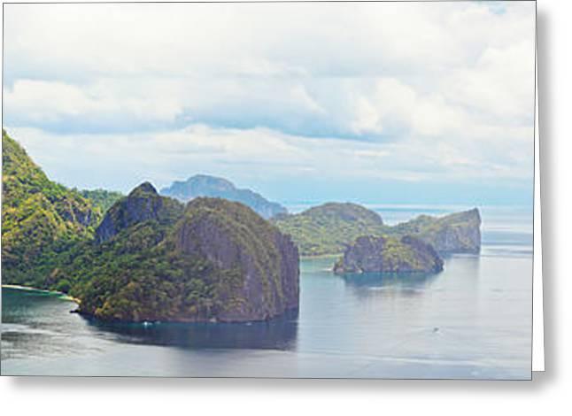 El-nido Greeting Cards - Tropical lagoon Greeting Card by MotHaiBaPhoto Prints