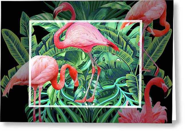 Tropical Mood  Greeting Card by Mark Ashkenazi