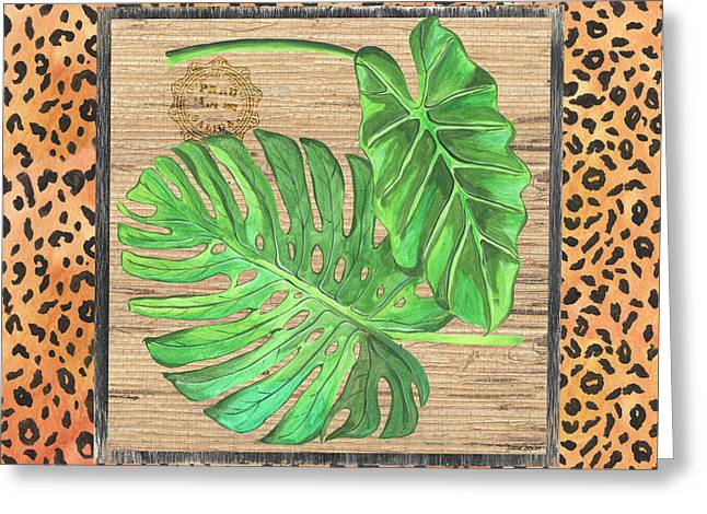 Tropical Palms 2 Greeting Card by Debbie DeWitt