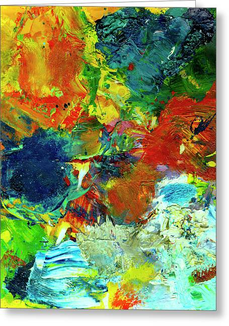 Tropical Reef #308 Greeting Card by Donald k Hall